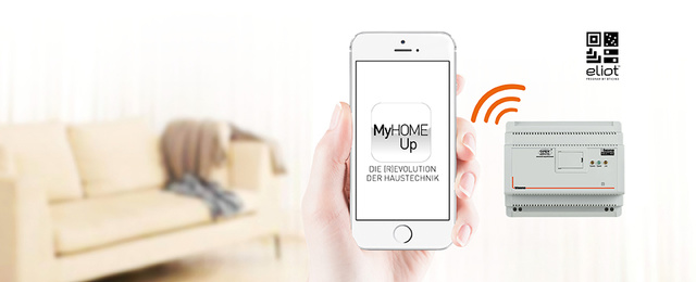MyHOME / MyHOME_Up bei m&m Elektrotechnik GbR in Ketsch
